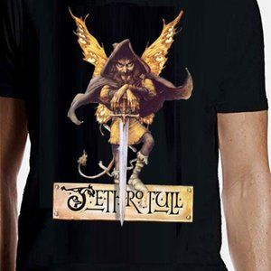 jethro tull broadsword official new 3xl discontinued tee - aqualung flute ian